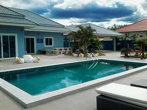 บ้านพักหัวหิน รีแล็กซ์ไทม์ หัวหิน พูลวิลล่า Relax Time Huahin Poolvilla Hotel