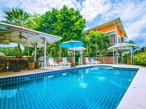 บ้านพักหัวหิน พูลวิลล่า Big house Huahin Cha-Am Poolvilla