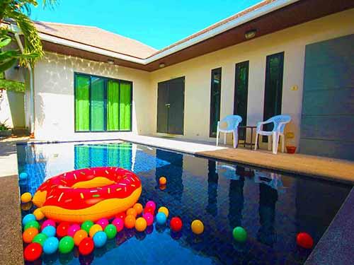 บ้านพักหัวหิน เทวัญ พูลวิลล่า Thaevan Poolvilla Huahin