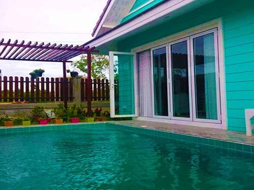 บ้านพักหัวหิน กรีนโฮม พูลวิลล่า หัวหิน Green home huahin poolvilla