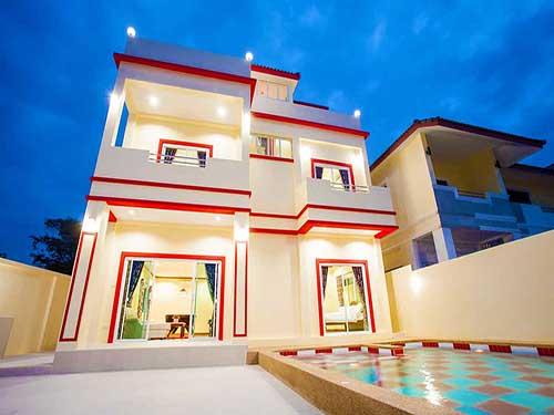 บ้านพักหัวหิน วารี พูลวิลล่า หัวหิน Varee Poolvilla Huahin Hotel