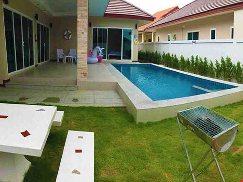 บ้านพักชะอำ เซเรนิตี้ พูลวิลล่า Serenity Cha-Am Poolvilla Huahin