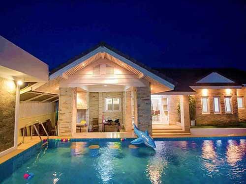 ที่พักหัวหิน เพนต์ เฮาส์ พูลวิลล่า Pent House Huahin Poolvilla Hotel