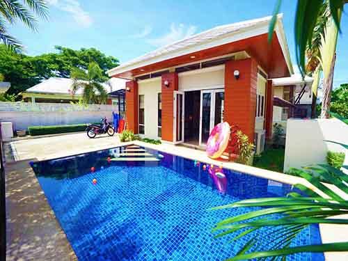 บ้านพักหัวหิน มันตราปุระ พูลวิลล่า Mantra Pura Poolvilla Huahin