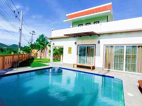 บ้านพักหัวหิน ไนซ์ เรสซิเดนซ์ หัวหิน ชะอำ พูลวิลล่า Nice Residence Poolvilla Huahin Hotel