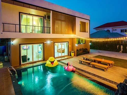บ้านพักหัวหิน โคโรลาโด้ พูลวิลล่า หัวหิน Corolado Huahin Poolvilla Hotel