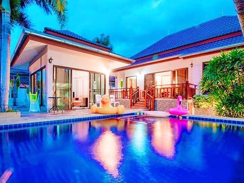 บ้านพักหัวหิน ภูวนาลี หัวหิน พูลวิลล่า Phuvanari Poolvilla Huahin