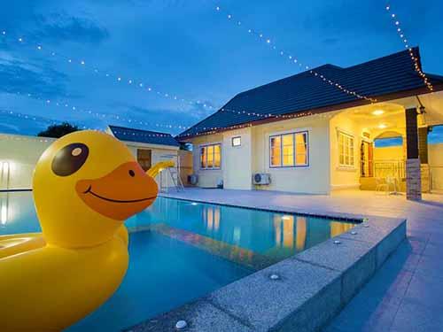 บ้านพักหัวหิน เดอะซันเซ็ท หัวหิน พูลวิลล่า The Sunset Huahin Poolvilla