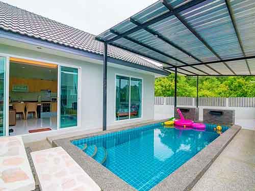บ้านพักหัวหิน กู๊ด วิว หัวหิน พูลวิลล่า Good View Huahin Poolvilla ที่พักหัวหิน