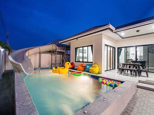 บ้านพักหัวหิน เล็ตส์ ซี พูลวิลล่า Let's Sea Huahin Poolvilla