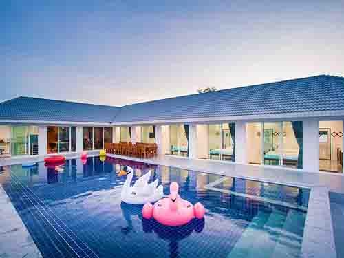 ที่พักหัวหิน บ้านพักหัวหิน ไนซ์ เฮาส์ หัวหิน พูลวิลล่า Nice House Poolvilla Huahin