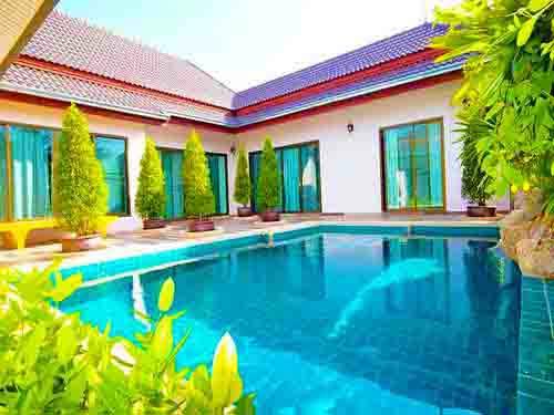 จองที่พักหัวหิน บ้านพักหัวหิน ฟลอริด้า พูลวิลล่า Florida Huahin Poolvilla