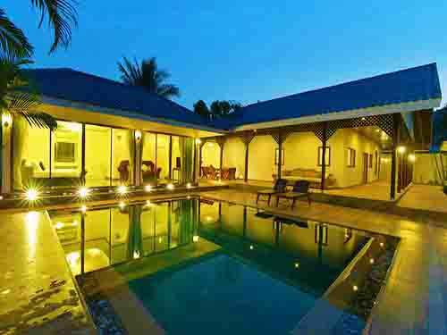 ที่พักหัวหิน บ้านพักหัวหิน บุราสิริ พูลวิลล่า บ้านพักหัวหิน Burasiri Poolvilla Huahin