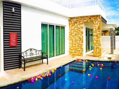 จองที่พักหัวหิน บ้านพักหัวหิน มาริสา พูลวิลล่า หัวหิน Marisa huahin poolvilla hotel