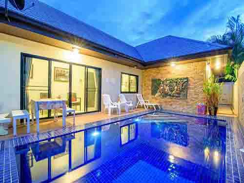 บ้านพักหัวหิน เดอะลิเวอร์ หัวหิน ชะอำ พูลวิลล่า บ้านพักหัวหิน The River Huahin Cha-Am Poolvilla Hotel