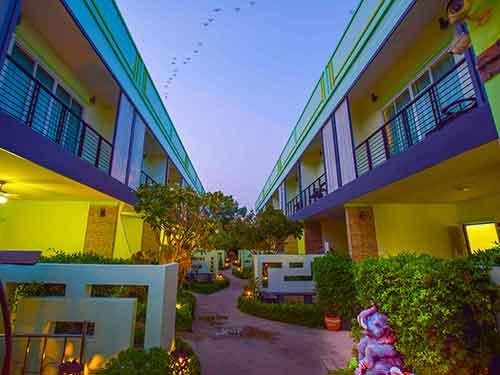 ที่พักหัวหิน เบย์วอล์ค พูลวิลล่า หัวหิน บ้านพักหัวหิน beywalk huahin Poolvilla resort