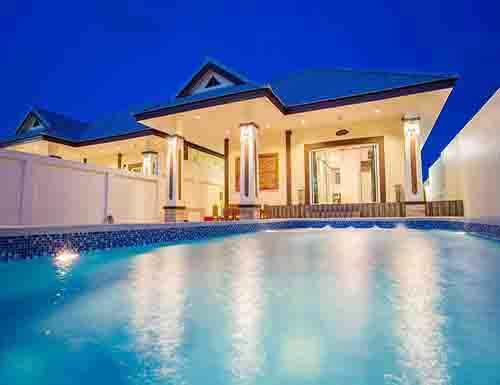 จองที่พักหัวหิน บังกะโลหัวหิน บ้านพักหัวหิน ชวนชม พูลวิลล่า หัวหิน บ้านพัก Chaunchom Huahin Poolvilla Hotel