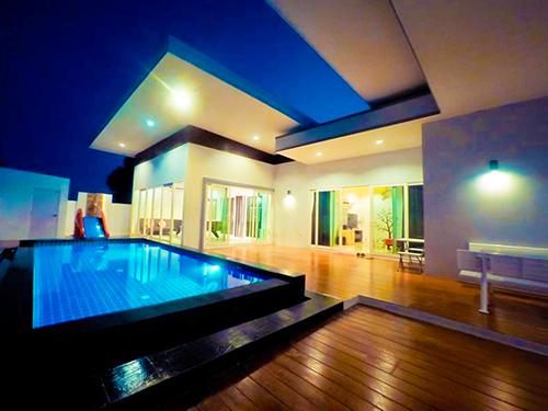 บ้านพักหัวหิน บีลีฟ เพลส พูลวิลล่า B'live place Poolvilla Huahin
