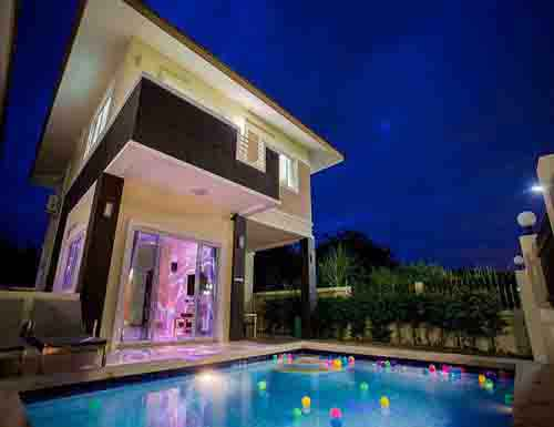 จองที่พักหัวหิน บังกะโลหัวหิน บ้านพักหัวหิน วรรณารา พูลวิลล่า หัวหิน Wannara Huahin Poolvilla Hotel