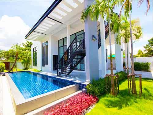 บ้านพักหัวหิน ไดมอนด์สวีทส์ พูลวิลล่า หัวหิน Diamond Suites poolvilla Huahin Hotel