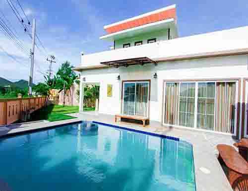 บ้านพักหัวหิน ไนซ์ เรสซิเดนซ์ พูลวิลล่า หัวหิน Nice Residence Huahin Poolvilla Hotel