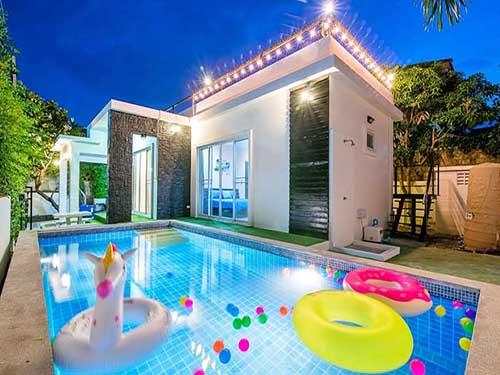 บ้านพักหัวหิน เดอะ พรีเมียร์ พูลวิลล่า The Premier Poolvilla Huahin