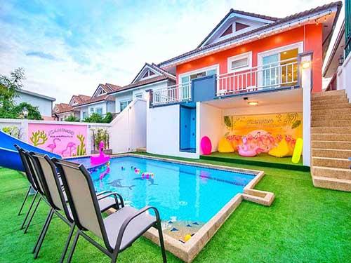 บ้านพักหัวหิน เอวารอน พูลวิลล่า Avon Poolvilla Huahin บ้านพักหัวหิน ที่พักหัวหิน บังกะโลหัวหิน โรงแรมหัวหิน คอนโดหัวหิน
