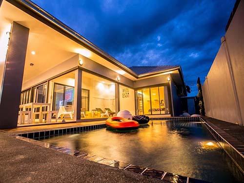 บ้านพักชะอำ มายด์เฮาส์ ชะอำ พูลวิลล่า Mine House Cha-Am Poolvilla