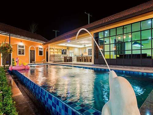 บ้านพักหัวหิน เมอริเดียน หัวหิน พูลวิลล่า Meridien Huahin Poolvilla
