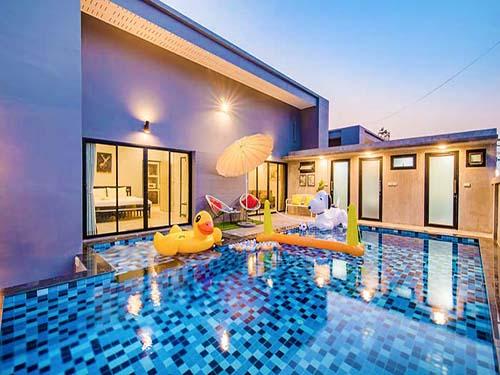 บ้านพักหัวหิน บีช ออน พาราไดร์ หัวหิน พูลวิลล่า Beach On Paradise huahin poolvilla