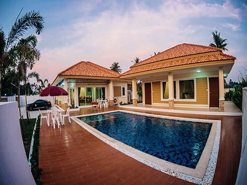 บ้านพักหัวหิน ลีลาวดี หัวหิน พูลวิลล่า Leelawadee Poolvilla House Huahin