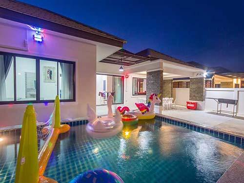 บ้านพักหัวหิน มอร์ตัน พูลวิลล่า Morton Poolvilla  Huahin