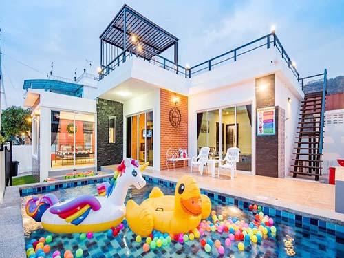ไอเรสท์ พูลวิลล่า Ayrest Huahin Poolvilla ที่พักหัวหิน บ้านพักหัวหิน โรงแรมหัวหิน บังกะโลหัวหิน ที่พักชะอำ บ้านพักชะอำ