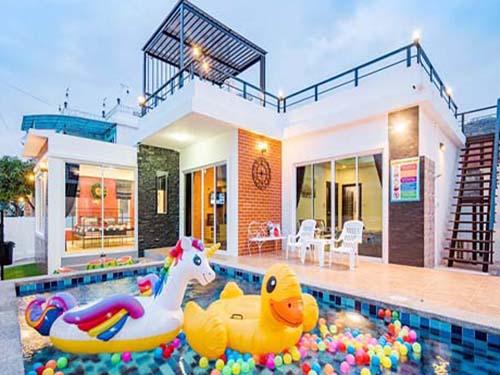 บ้านพักหัวหิน ไอเรสท์ หัวหิน ชะอำ พูลวิลล่า บ้านพักหัวหิน ayrest Huahin Cha-Am poolvilla hotel