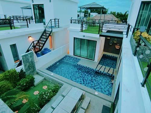 ไอสเตย์ I-Stay Poolvilla Huahin พูลวิลล่า จองบ้านพักหัวหิน โรงแรมหัวหิน ที่พักหัวหิน บ้านพักหัวหิน บังกะโลหัวหิน