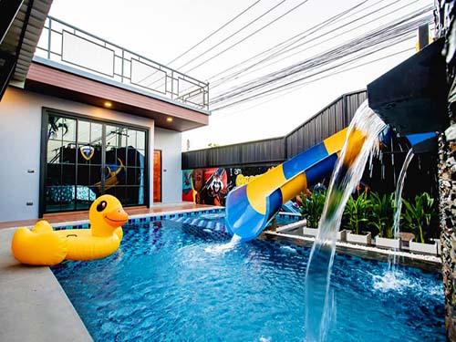 สริญญา พูลวิลล่า Sarinya Huahin Poolvilla ที่พักหัวหิน-บ้านพักหัวหิน-โรงแรมหัวหิน-บังกะโลหัวหิน-ที่พักชะอำ-บ้านพักชะอำ